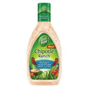 Wish-Bone, Chipotle Ranch Salad Dressing, 16oz Bottle (Pack of 3)