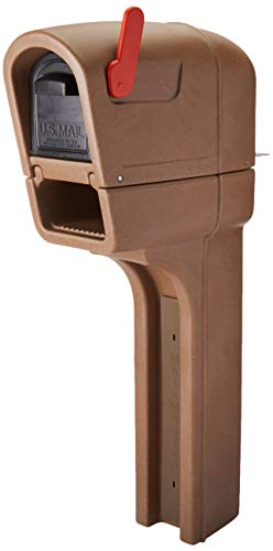 Step2 595200 MailMaster Plus Mailbox, Walnut