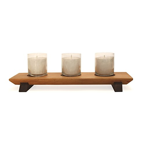 Unscented Palm Votives (Haywood Votive Centerpiece)