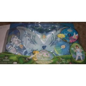 [Fairies Boxed Dress-up Sets] (Silvermist Fairy Child Costume)