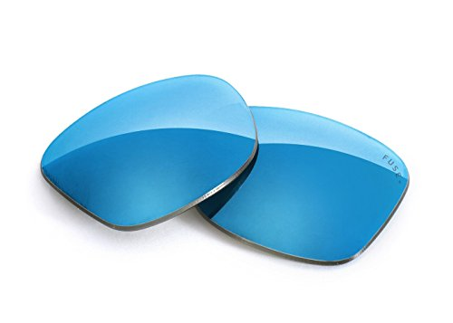 FUSE+ Lenses for Ray-Ban RB2151 Wayfarer Squared (49mm) Glacier Mirror - Rb2151 Wayfarer