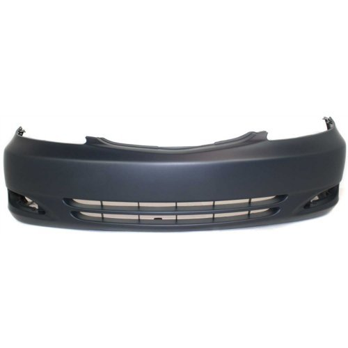 Front Bumper Cover for TOYOTA CAMRY 2002-2004 Primed with Fog Light Holes SE Model USA Built ()