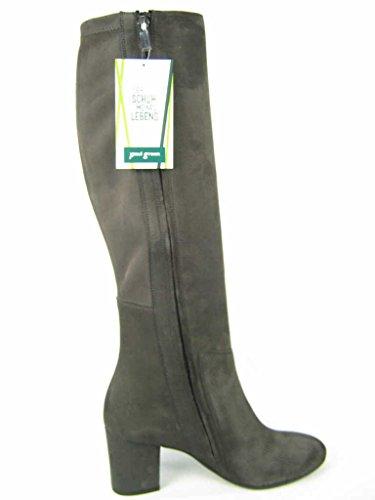 Paul Green | Stiefel Langschaft - grau | iron, Farbe:grau;Größe:38.5