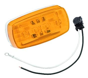 Bargman 47-58-032#58 Series Amber Side//Marker LED Light