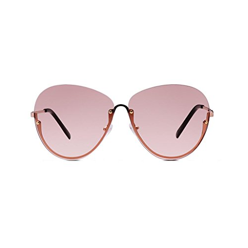 Vintage Transparente Gafas sol colores 4 de Nueva UV mujer Opcional UV400 Personalidad sol Gafas sol de al de para Pink conducción de excursionista Protección libre aire Protección Gafas de estrella Regalo Iwn6fCq4