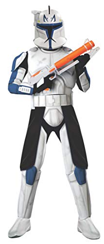 Rubie's Costume Co Deluxe Clonetrooper Captain Rex Costume, -