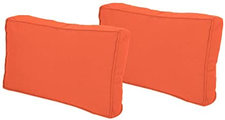 Christopher Knight Home Ishara Rectanglular Water Resistant 12 x20 Lumbar Pillows Set of 2 , coral