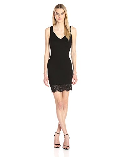 French Connection Cocktail - French Connection Women's Lula Lace Dress, Black, 2