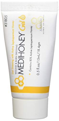 Improved Medihoney Gel Wound and & Burn Dressing from Derma Sciences, 0.5 oz, ()