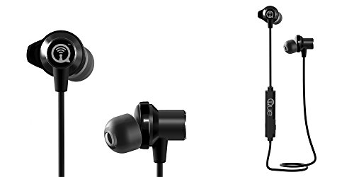 Que Acoustics Q3E Wireless Bluetooth In-Ear Headphones Earbuds with Amazing Sound