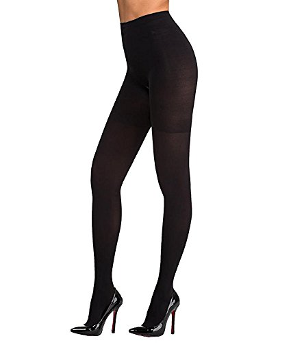 - SPANX Women's Foot Pillow Tight End Tights, Black, B