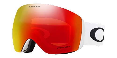 Oakley Flight Deck Asian Fit Snow Goggle, Polished White, ()