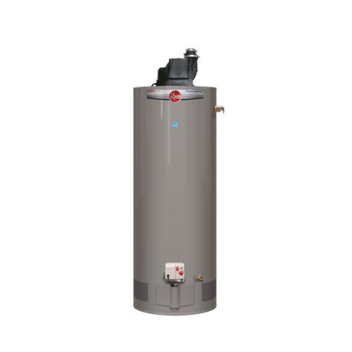 Rheem PROG50-42P RH67 PV Professional Classic Residential 42K BTU Power Vent Liquid Propane Gas Water Heater, - Power Water Heater Vent Gas