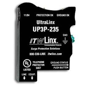 ITW Linx - UltraLinx 66 Block/235V Clamp/160mA PTC ()