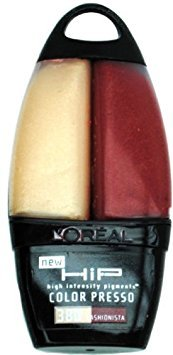 Loreal HIP High Intensity Pigments Color Presso Fashionista #380