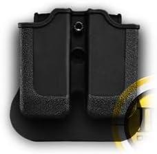 IMI Holsters, Israel Glock 36 Double Magazine Pouch Black 31JiEo7B9HL