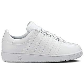 K-Swiss Women's Classic VN Lifestyle Sneaker, White/White, 9 M US