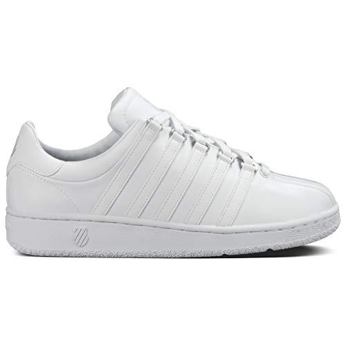 K-Swiss Women's Classic VN Lifestyle Sneaker, White/White, 5 M US