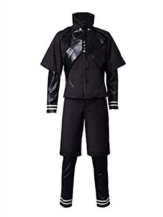 Cosfun Tokyo Ghoul The Second Season Ken Kaneki Cosplay Costume mp002708 (US-XS)