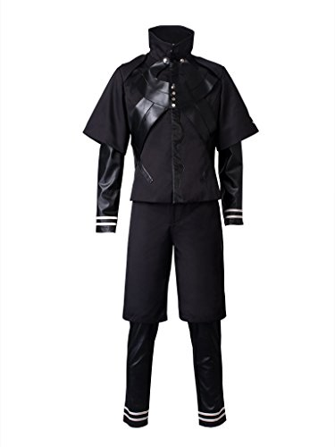 Cosfun Tokyo Ghoul The Second Season Ken Kaneki Cosplay Costume mp002708 (US-XL)