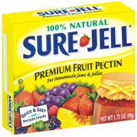 (Sure-Jell 100% Natural Premium Fruit Pectin 1.75 oz)