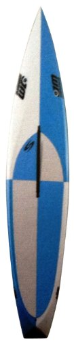Surftech Mini-Mitcho 0906 Pro-Elite Stand Up Paddle Board, Light Blue/Grey, 9-Feet 6-Inch x 26-Inch x 5.6-Inch