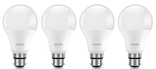 Luminous Shine Eco 9W B22 900L LED Bulb (Whit..