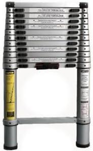 Escalera Telescópica Aluminio de 80 cm a 4 metros: Amazon.es: Bricolaje y herramientas