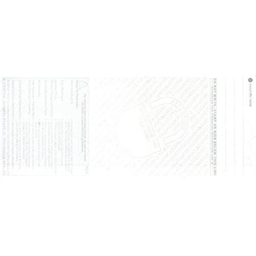 30%OFF 500 Blank Check Paper for Quickbooks with Void Pantograph and