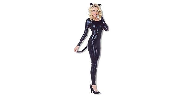 Negro catsuit zorra XL: Amazon.es: Juguetes y juegos