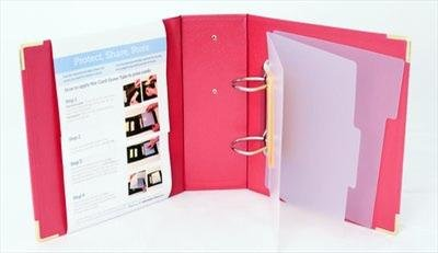 Totally Tiffany - Card Saver Binder - Red