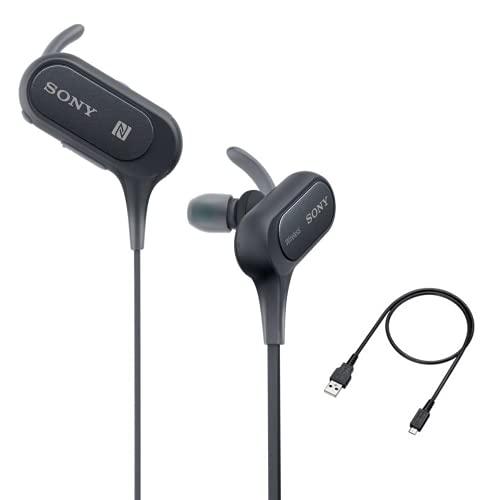Sony MDR XB50BS/B Wireless Bluetooth In Ear Headphone with Mic  Black