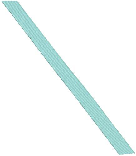 Aquamarine Ribbon - Schiff Ribbons 744-1.5 Polyester Grosgrain 3/8-Inch Fabric Ribbons, 20-Yard, Aquamarine