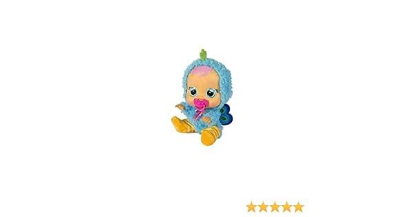 BEBÉS llorones Cry Babies,, Pijama Pavo Real (IMC Toys 99166)