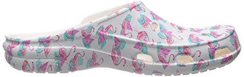 Pictures of Crocs Women's Freesail Flamingo Graphic Clog Crocs Freesail Summer Fun Clog 3