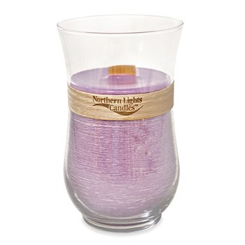 Northern Lights Candles Woodland Natural Wick Candle, 30-Ounce, Lavender Vanilla