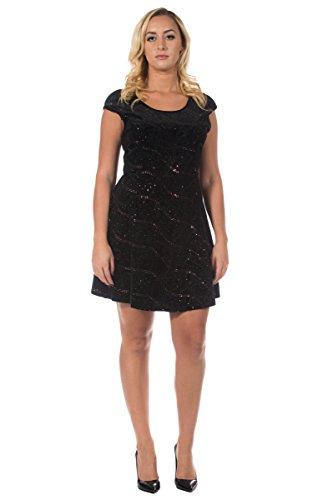 90s metallic dress - 3
