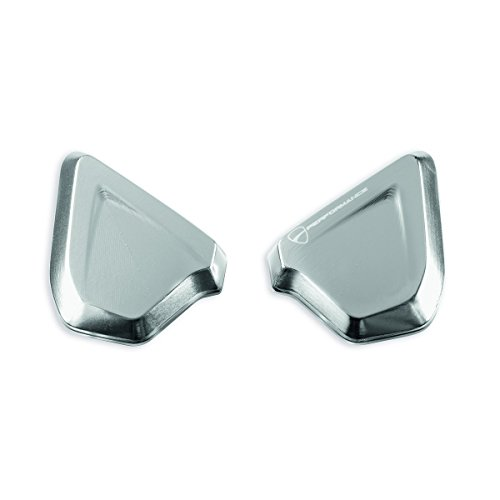 Ducati SuperSport Billet aluminum caps to plug mirror mounting holes. 97380761A by Ducati