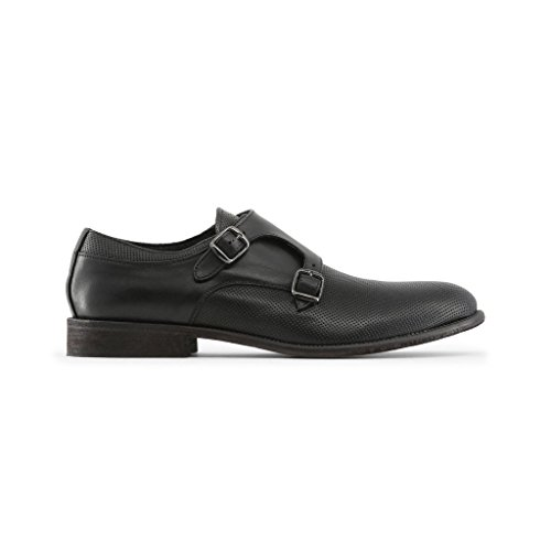 Noir Moine Italia CELSO in Made Sangle À Chaussures De Homme Pour Double Boucle Tq7XOCx