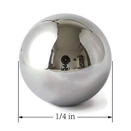 """HFS 100 Pieces 1//4/"""" Bracket Bike Loose Bearing Balls Stainless Steel 304 R"""