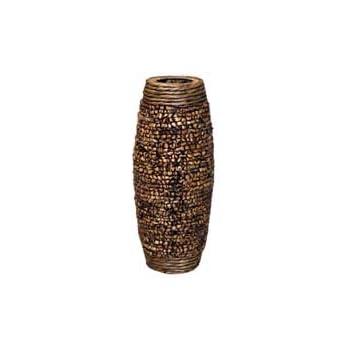Amazon Hosley 23 High Natural Hyacinth Floor Vase Brown