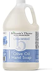 Organic Olive Oil Hand Soap - Made with Natural Luxurious Oils. Vegan & Gluten Free