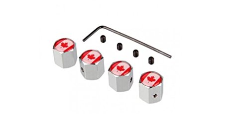 canadian-flag-chrome-anti-theft-tire-valve-caps