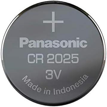 10 Pack -- Panasonic Cr2025 3v Lithium Coin Cell Battery Dl2025 Ecr2025