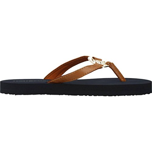 Tommy Brown Hilfiger Colour Slippers For 78097 Women Women Brand And Brown Model Sandals anaqpw7r