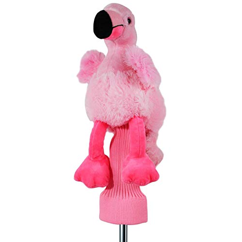(Freda The Flamingo 460 cc Golf Head Cover Pink NEW)