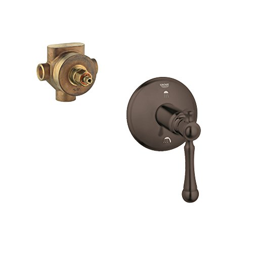 Grohe K19325-29712R-ZB0 Bridgeford Diverter Valve Kit, Oil Rubbed Bronze