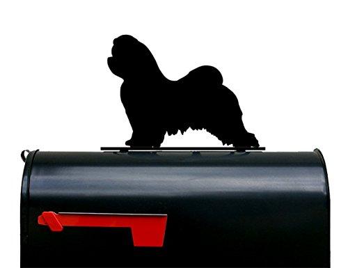 Maltese Dog Mailbox Topper / Sign by NewnanMetalWorks