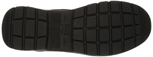 Timberland Pro Mens 8 Valor Soft-Toe Waterproof Work Boot Black Smooth Leather Ballistic Nylon