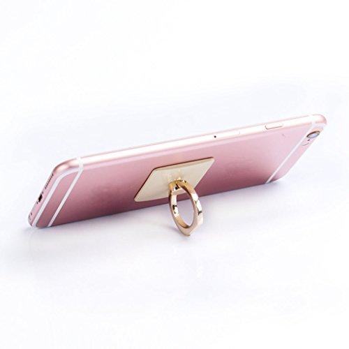 Ring Phone holder,NNDA CO 360°Finger Ring Hook Metal Grip Stand Holder For Universal Mobile Phone ()